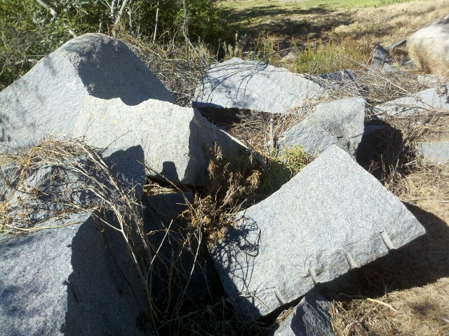 Granite. Just like at home. And I think of it as an Appalachian Mountains rock.