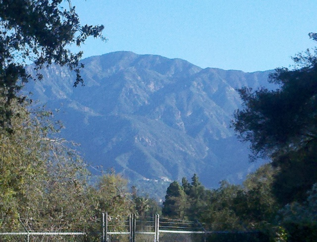 And the air was pretty darned clear, for LA.