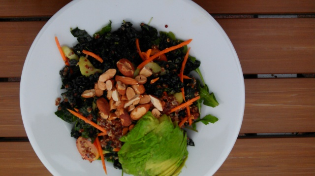 Dino kale salad.