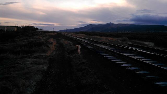 Sunrise over Elko.