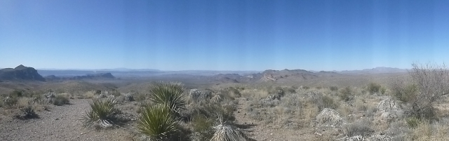 Sotol Vista panorama.