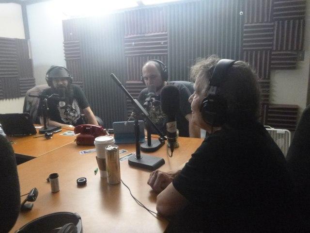 Mila was interviewed on the radio.