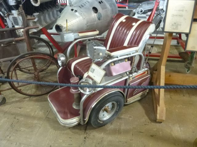 And this crazy electric chair from the 1950s.